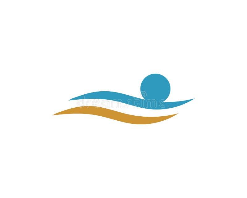 Vetor do molde do logotipo da ado??o e dos cuidados comunit?rios ilustração do vetor