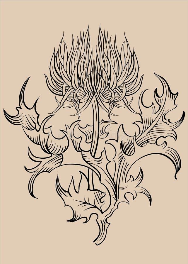 Vetor do ornamento ilustração royalty free