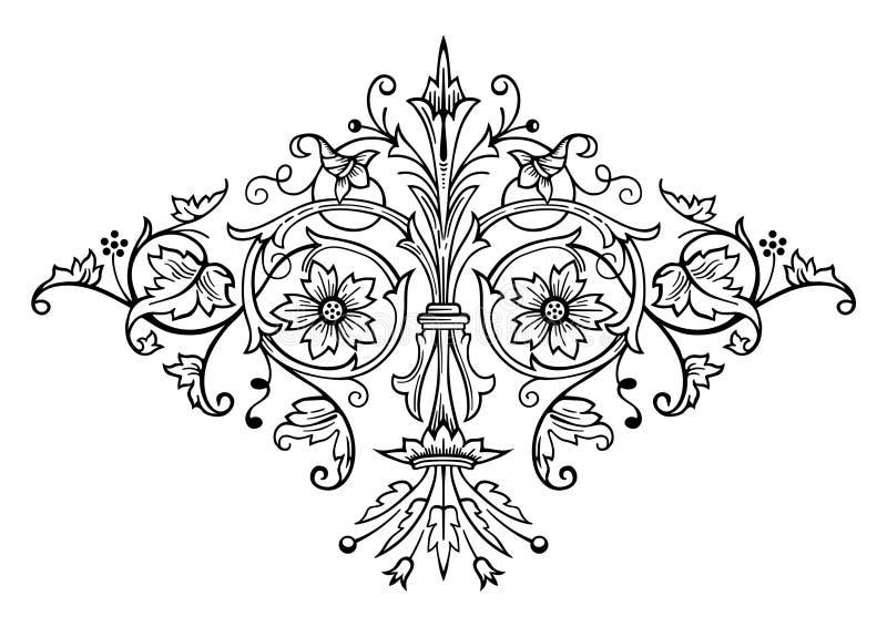 Vetor do ornamento do russo ilustração stock