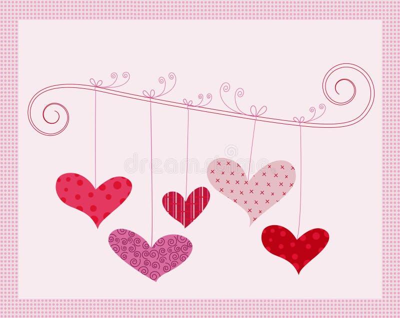 Vetor do projeto de conceito do amor ilustração stock