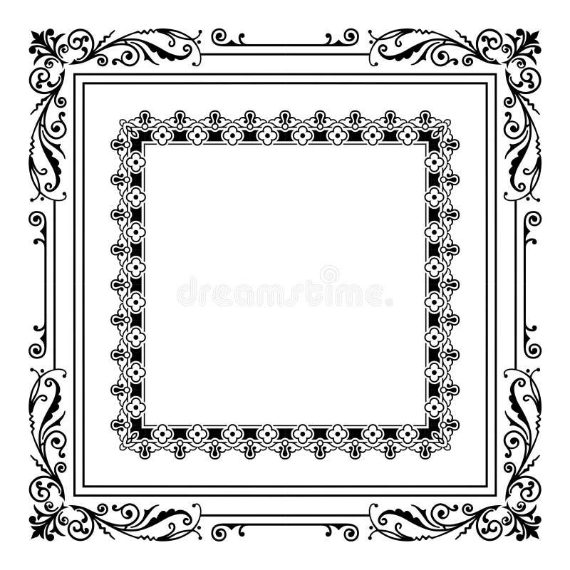 Vetor do quadro ilustração royalty free
