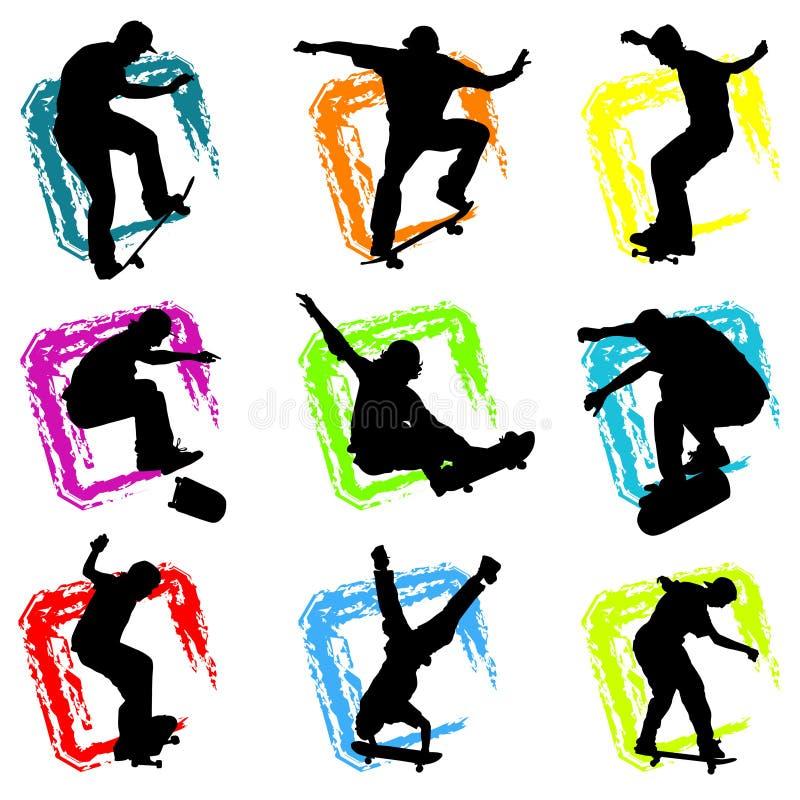 Vetor do skate ilustração do vetor