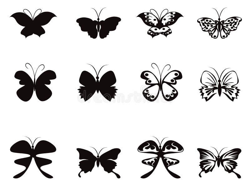 Vetor do teste padrão de borboleta ilustração do vetor