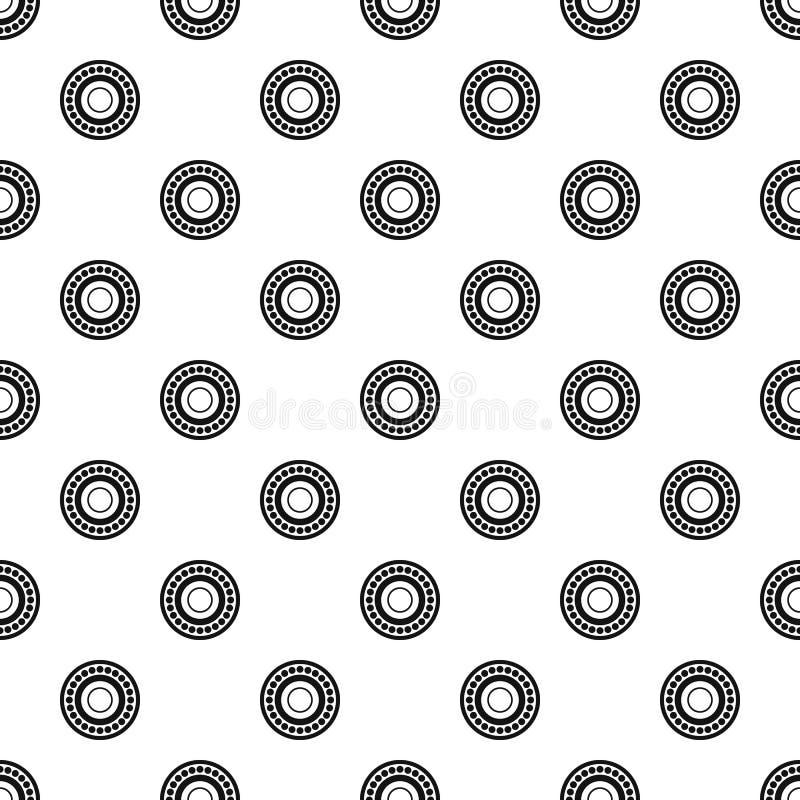Vetor do teste padrão do rolamento ilustração stock