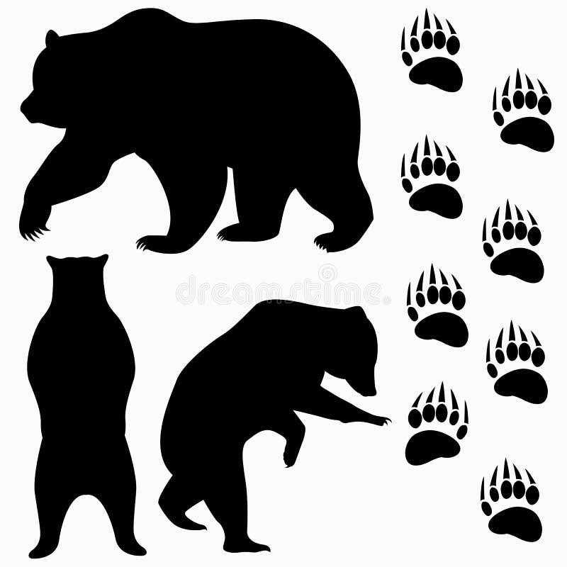 Vetor do urso foto de stock royalty free