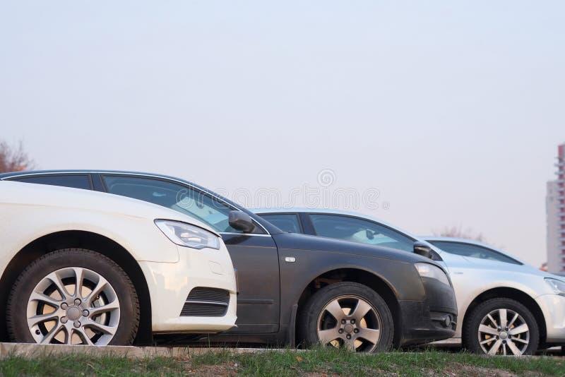 Vetor dos carros fotografia de stock royalty free
