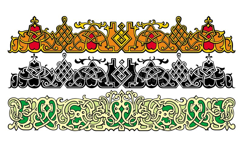 Vetor dos elementos do projeto ilustração royalty free