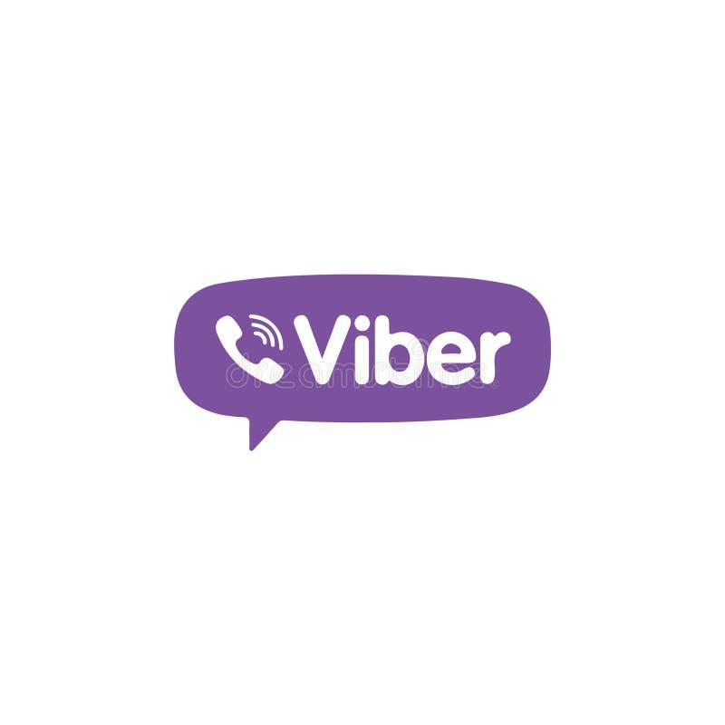 Vetor editorial de Viber ilustração do vetor