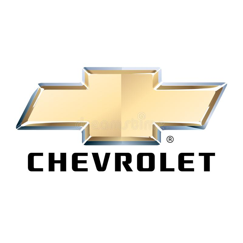 Vetor editorial dos logotipos do carro ilustração stock