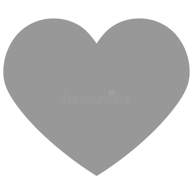 Vetor eps 10 do ícone do coração ilustração royalty free