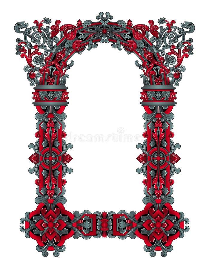 Vetor feericamente do frame ilustração royalty free