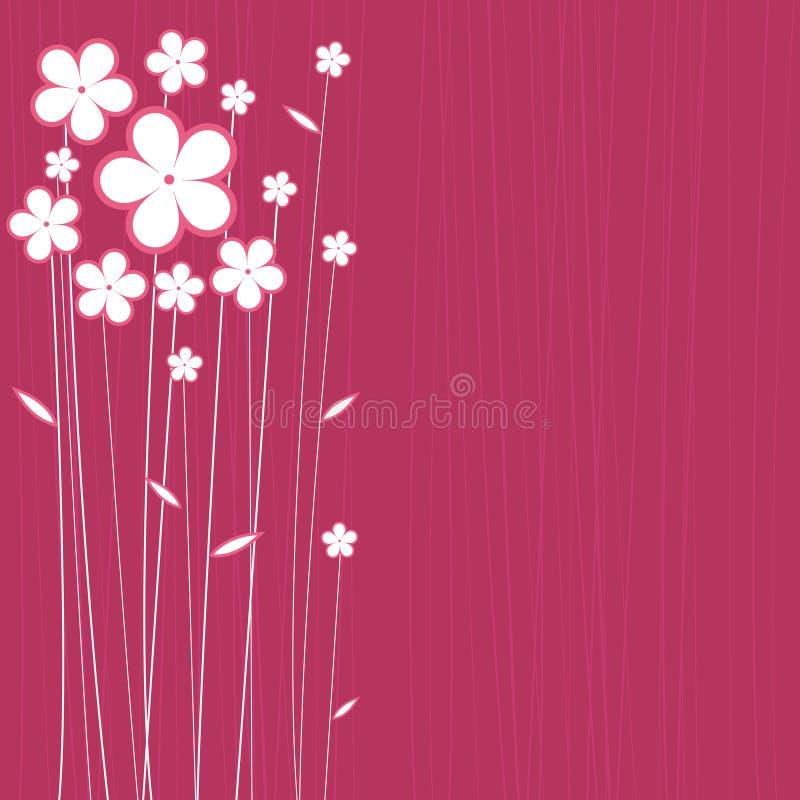 Vetor floral do projeto ilustração stock