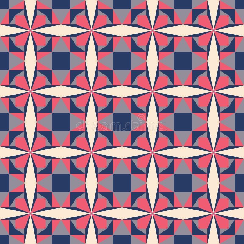 Vetor geométrico do teste padrão foto de stock