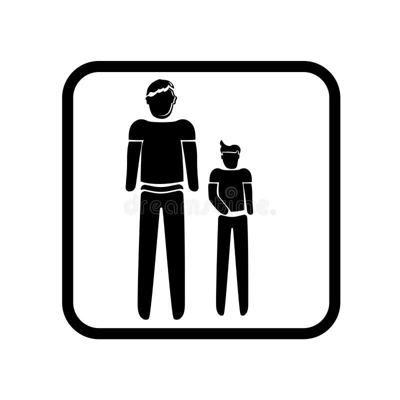 Vetor gigante do ícone isolado no fundo branco, sinal gigante, ilustrações do feriado ilustração stock