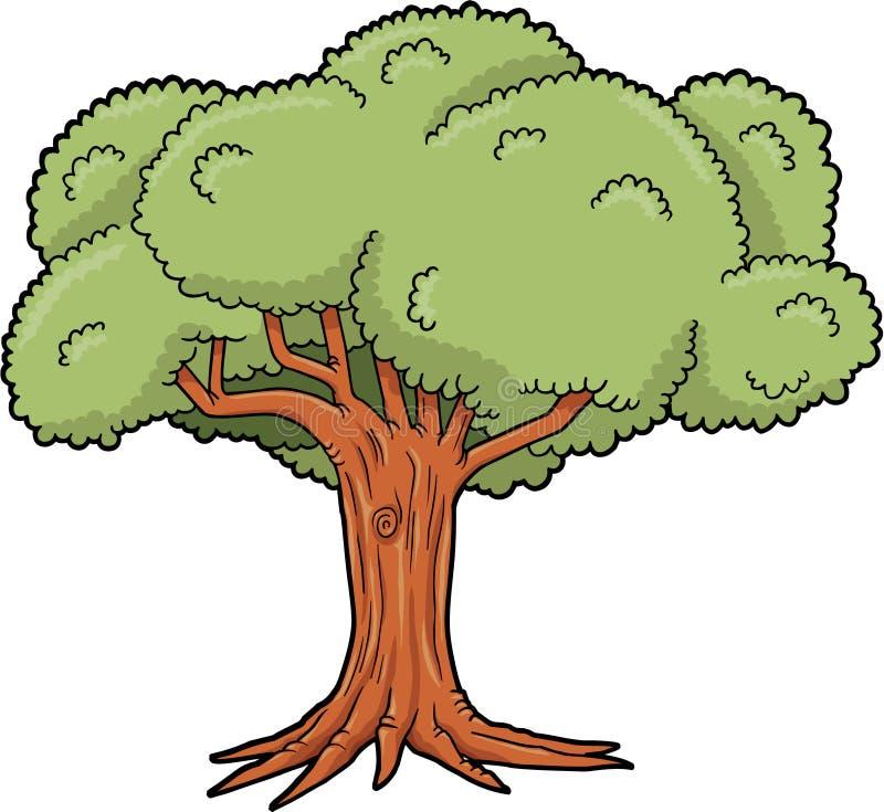Vetor grande da árvore