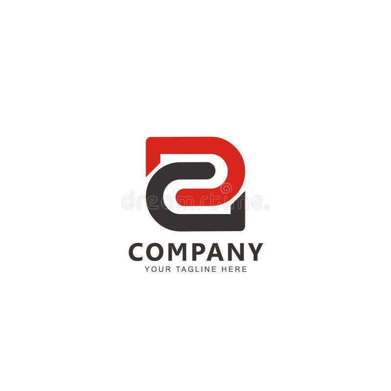 Vetor inicial de E Logo Design Inspiration ilustração royalty free