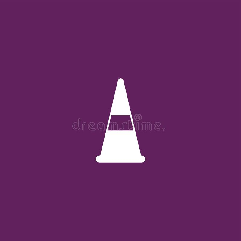Vetor isolado ilustração do ícone do tráfego ilustração do vetor
