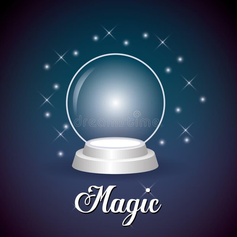 Vetor mágico ilustração stock