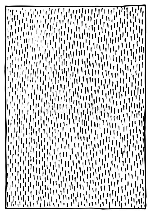 Vetor monocromático preto e branco abstrato do fundo da textura do curso da tinta ilustração stock