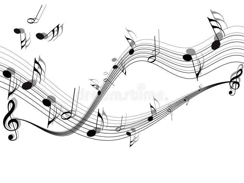Vetor musical ilustração do vetor