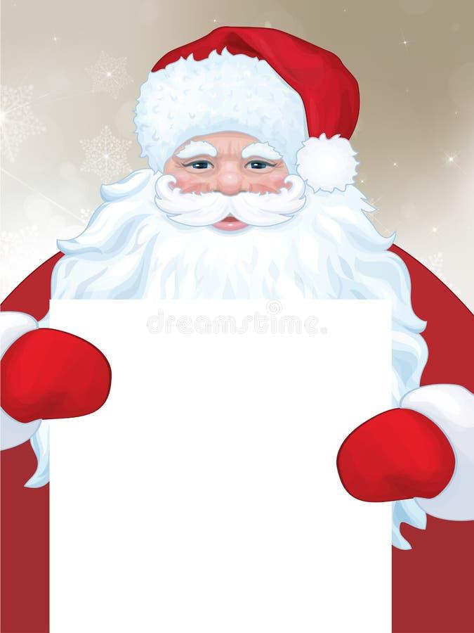 Vetor Papai Noel ilustração royalty free