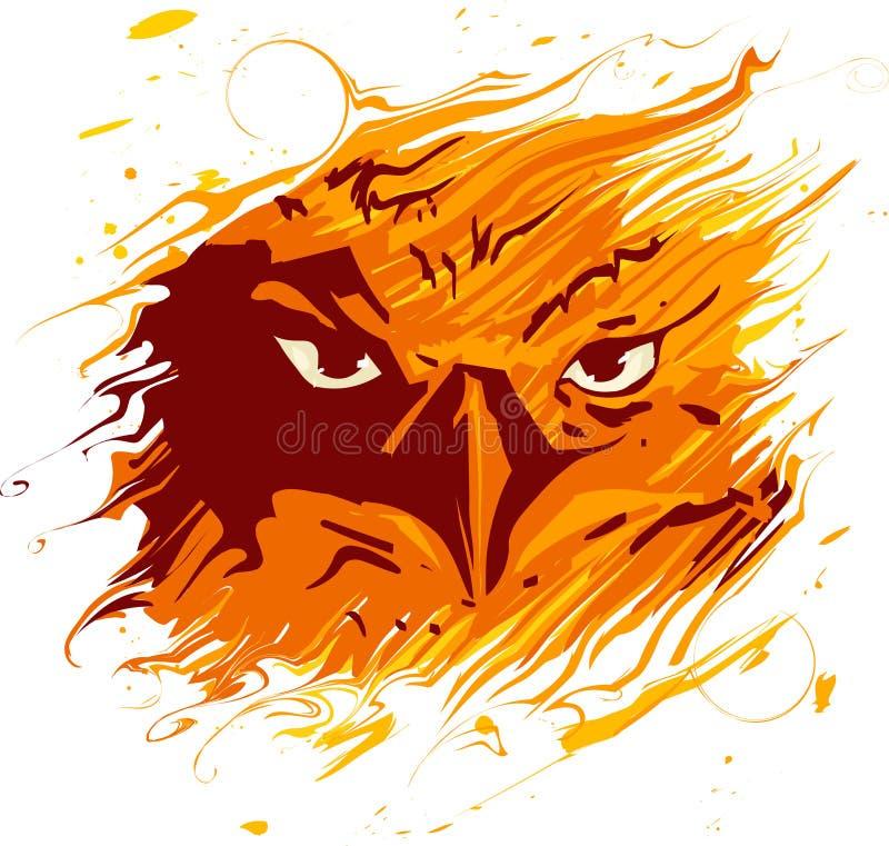 Vetor Phoenix ilustração stock