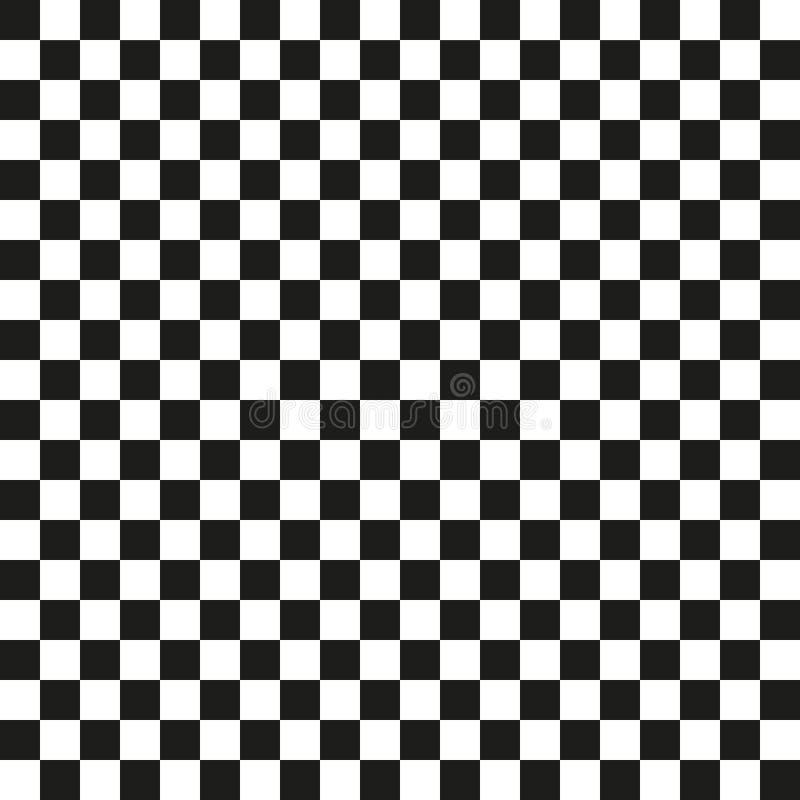 Vetor popular do fundo do sumário do quadrado da xadrez do verificador ilustração do vetor