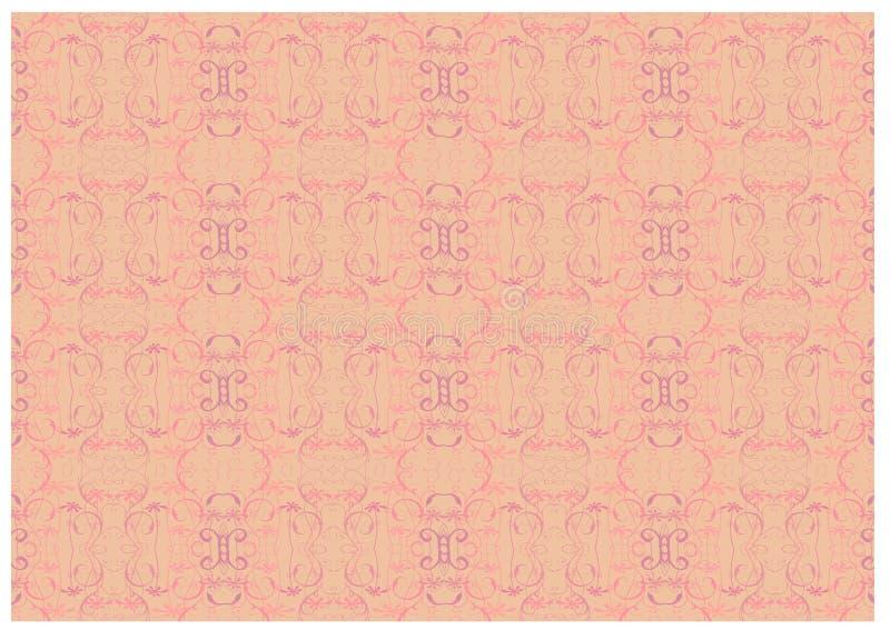 Vetor sem emenda do papel de parede floral ilustração royalty free