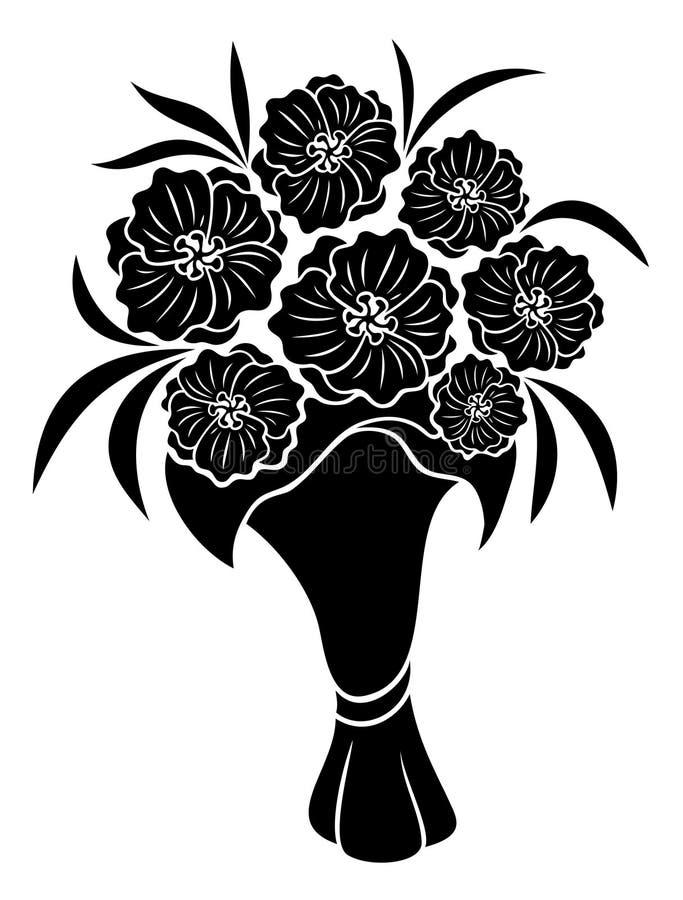 Vetor Sinal da flor ilustração do vetor