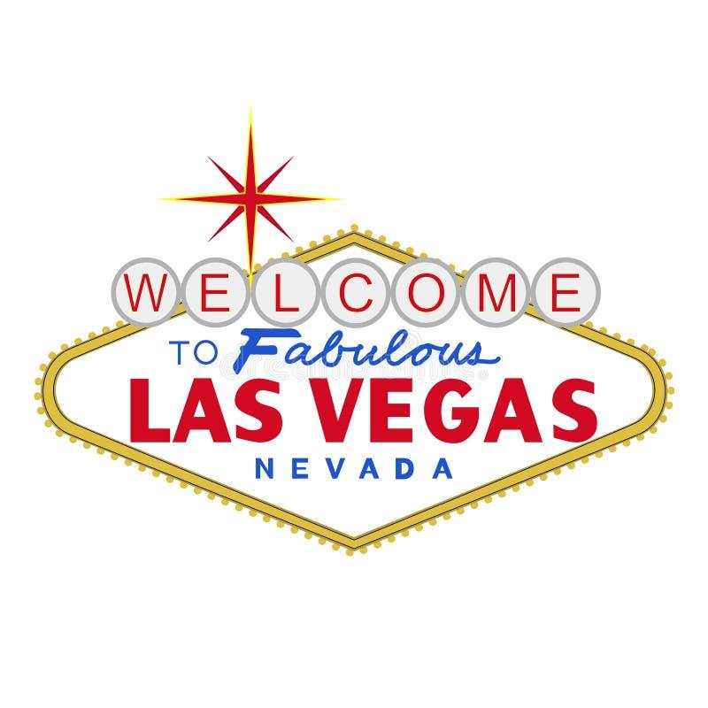 VETOR: Sinal de Las Vegas no dia (formato do EPS disponível) ilustração do vetor