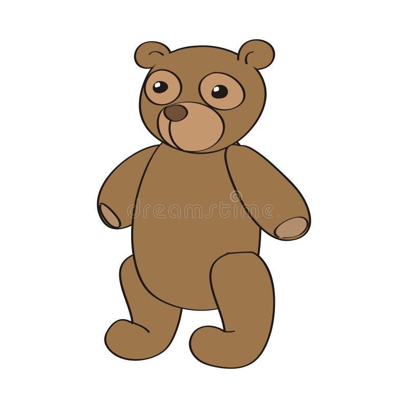 Vetor Teddy Bear ilustração stock