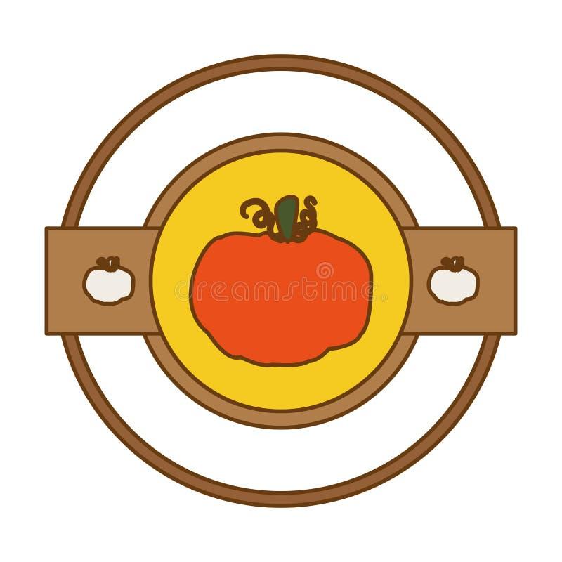 Vetor vegetal do ícone ilustração stock
