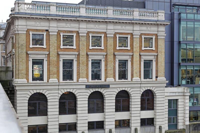 Vetrai Hall London fotografia stock libera da diritti