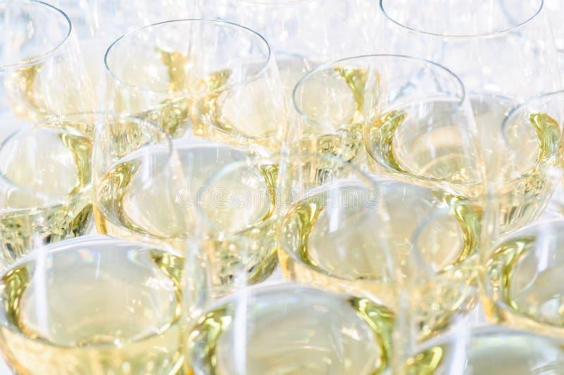Vetri con il cognac o il brandy immagine stock libera da diritti