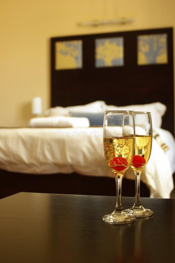 vetri del champagne immagini stock libere da diritti