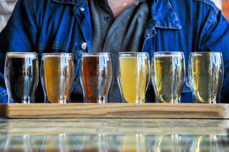Vetri delle birre immagini stock libere da diritti