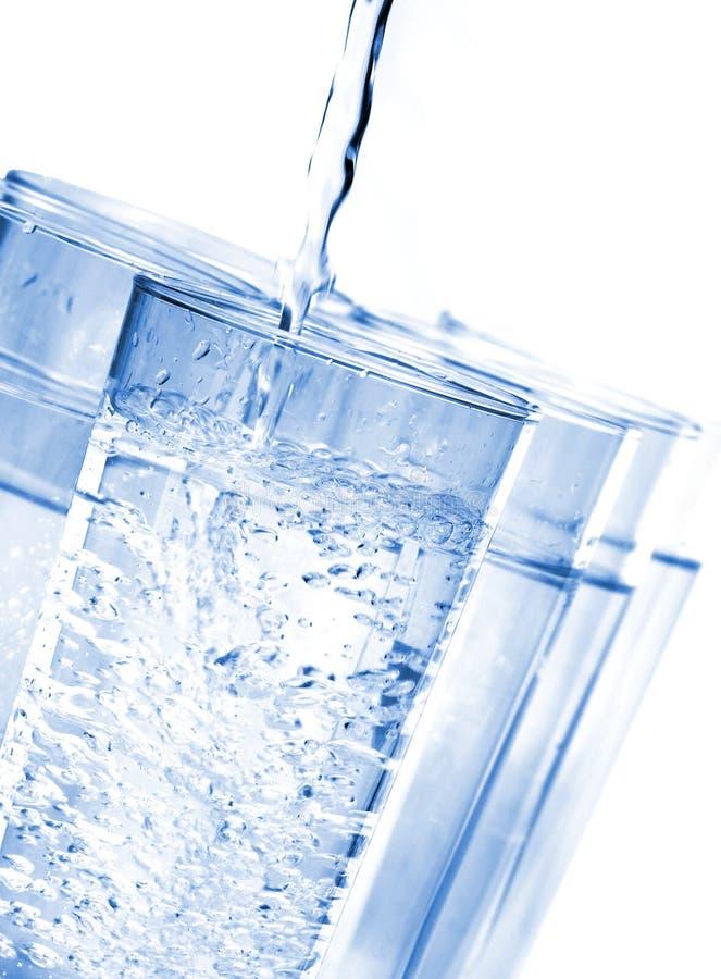 Vetri di acqua immagini stock libere da diritti
