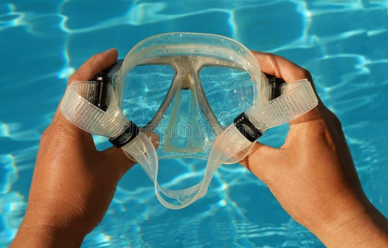 Vetri di immersione subacquea fotografia stock libera da diritti