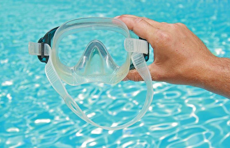 Vetri di immersione subacquea immagine stock
