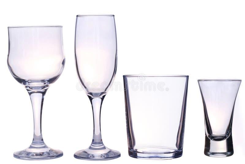Vetri per le bevande immagine stock