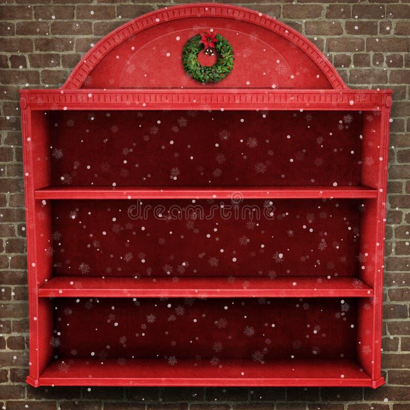 Vetrina di Natale royalty illustrazione gratis