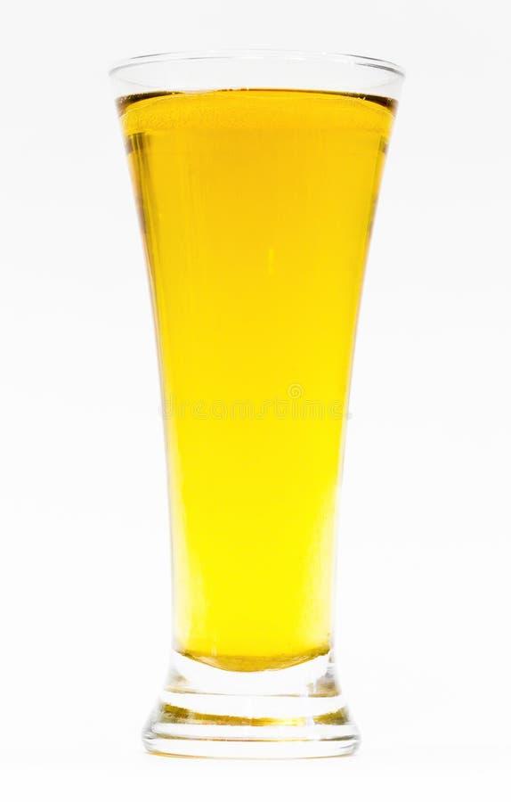 Vetro con birra fotografia stock libera da diritti