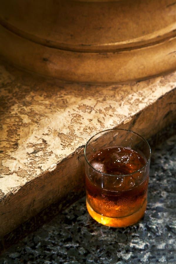 Vetro da whisky fotografia stock libera da diritti