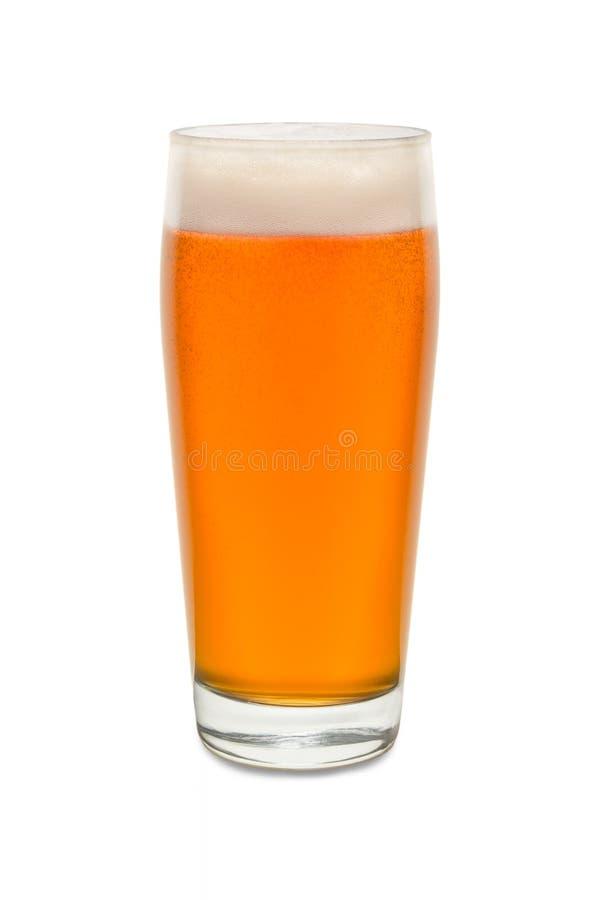 Vetro del pub del mestiere con birra 3 fotografia stock