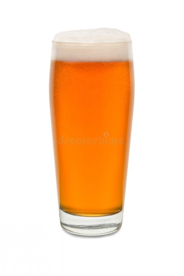 Vetro del pub del mestiere con birra 5 immagine stock