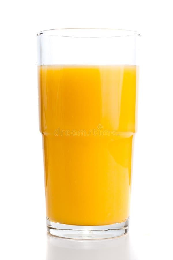 Vetro del succo di arancia. fotografie stock libere da diritti