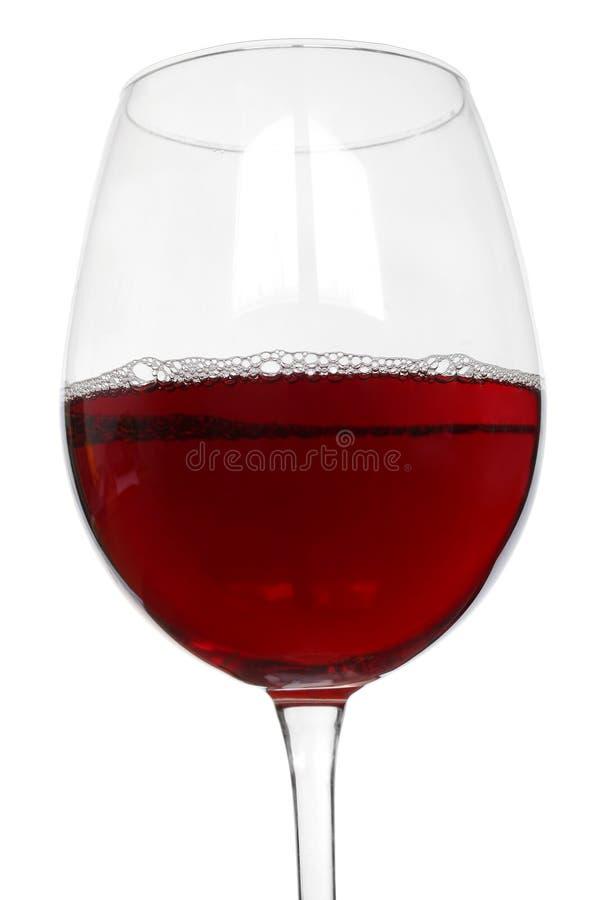 Vetro del vino rosso fotografia stock libera da diritti