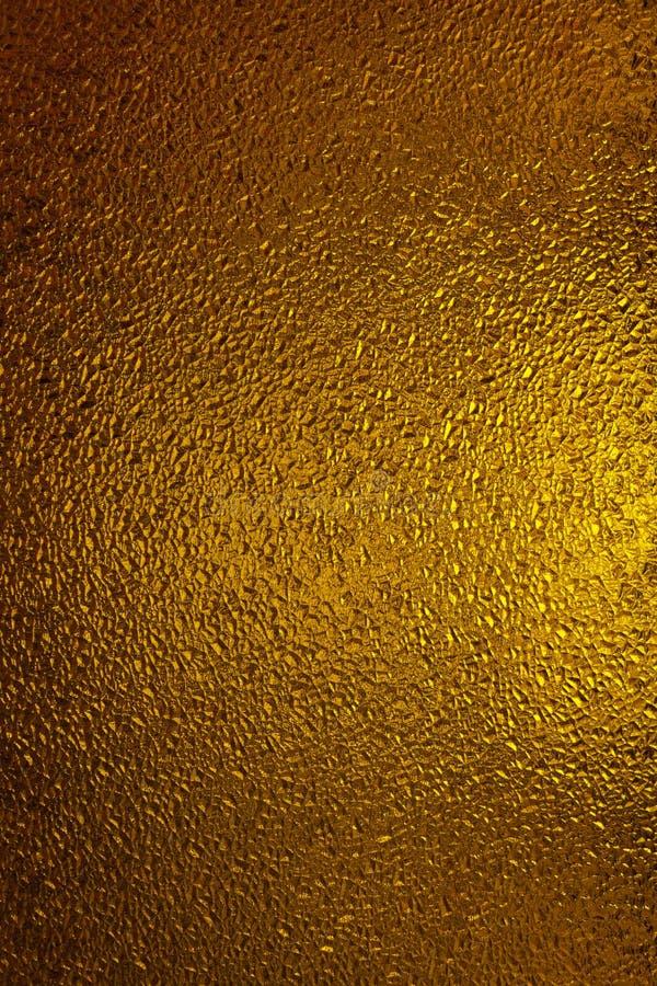 Vetro dell'oro immagine stock