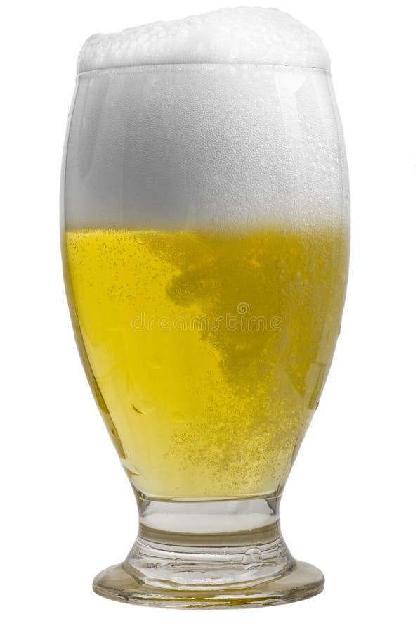 Vetro di birra fredda fotografie stock libere da diritti