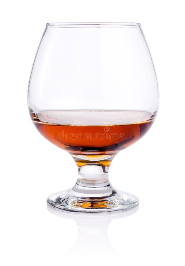 Download Vetro Di Brandy Su Fondo Bianco Immagine Stock - Immagine di cocktail, lusso: 30831923